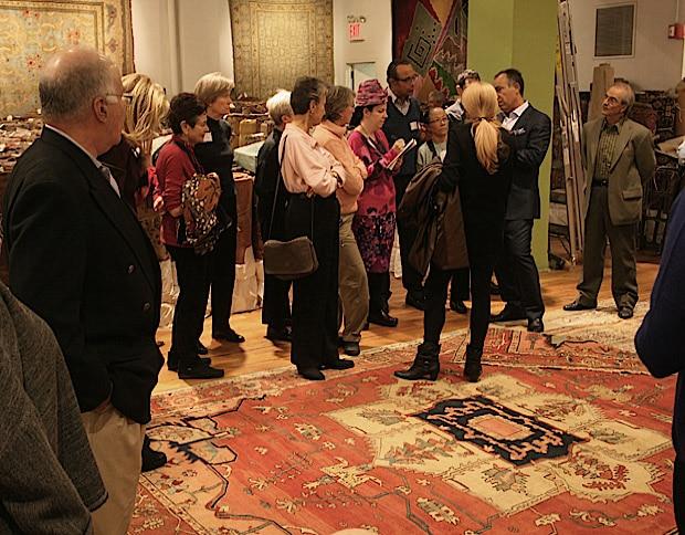 Seminar About Antique Carpets
