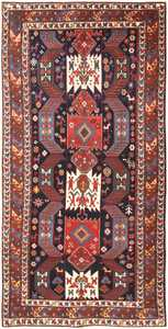 Antique Caucasian Kazak Rug 47070 Nazmiyal