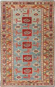 Antique Karakashly Caucasian Rug 47061 Nazmiyal