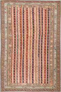Antique Shirvan Caucasian Rug 47056 Nazmiyal