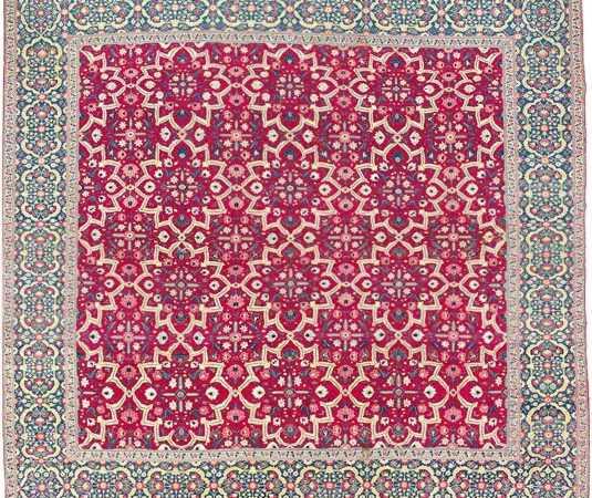 Cornelius Vanderbilt's Antique Mughal Rug