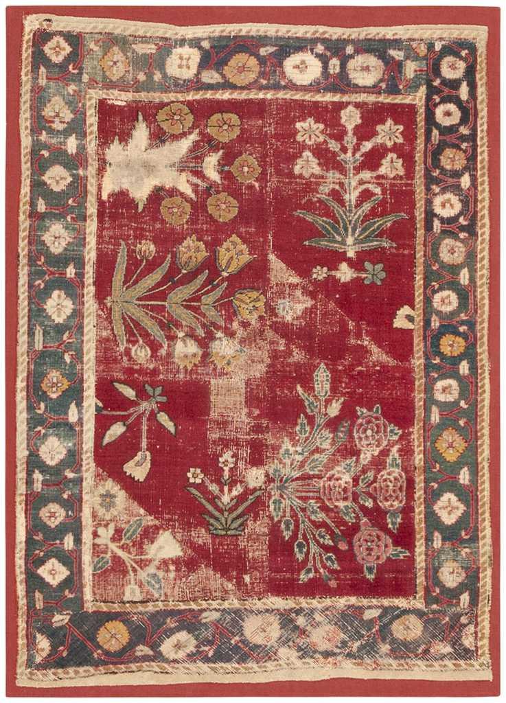 Mughal Carpet By Nazmiyal