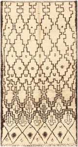 Vintage Moroccan Rug 47095 Detail/Large View