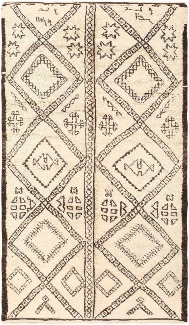 Vintage Moroccan Rug 47102 Detail/Large View