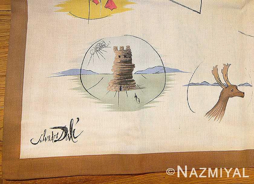 12 tribes of israel symbols salvador dali tapestry 47131 dali Nazmiyal