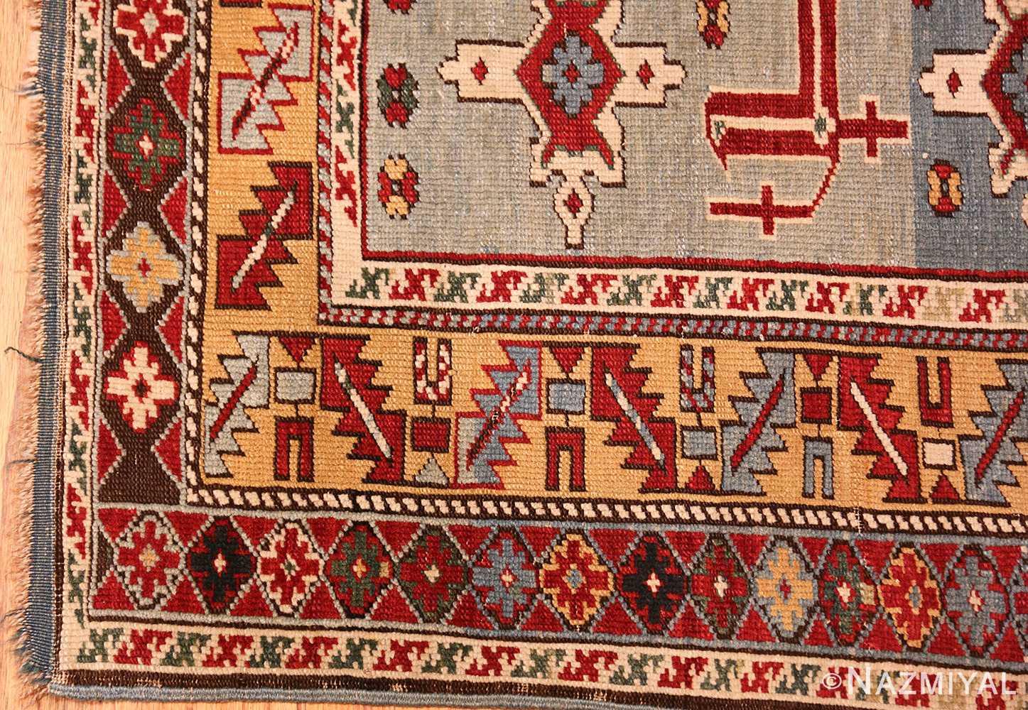 antique caucasian karakashly rug 47061 corner Nazmiyal