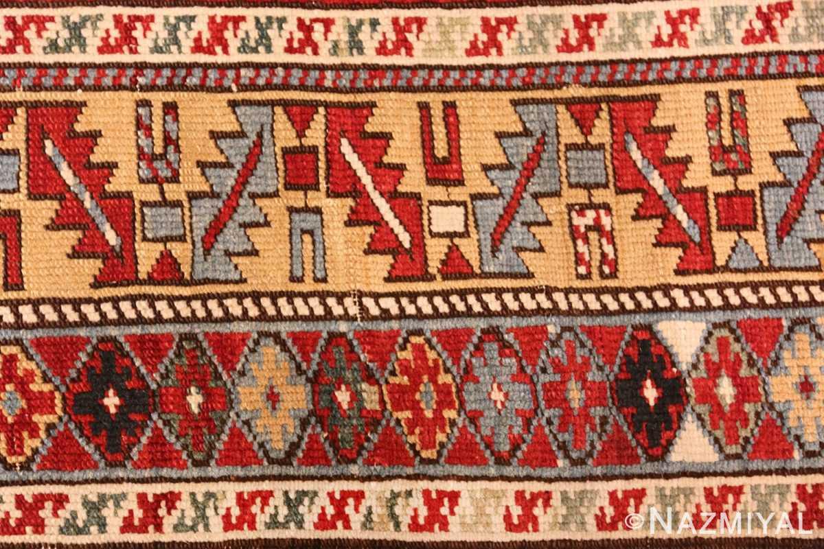 antique caucasian karakashly rug 47061 design Nazmiyal