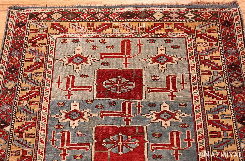 antique caucasian karakashly rug 47061 top Nazmiyal