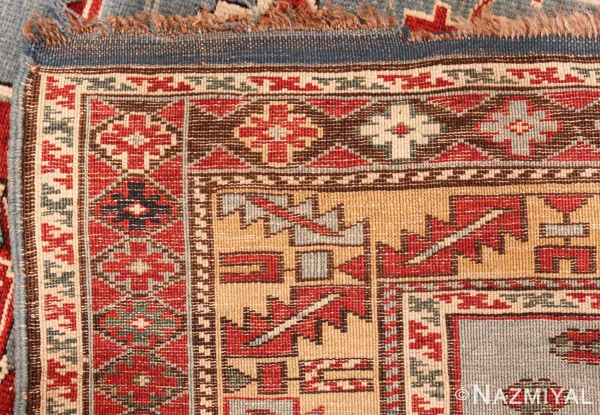 antique caucasian karakashly rug 47061 weave Nazmiyal