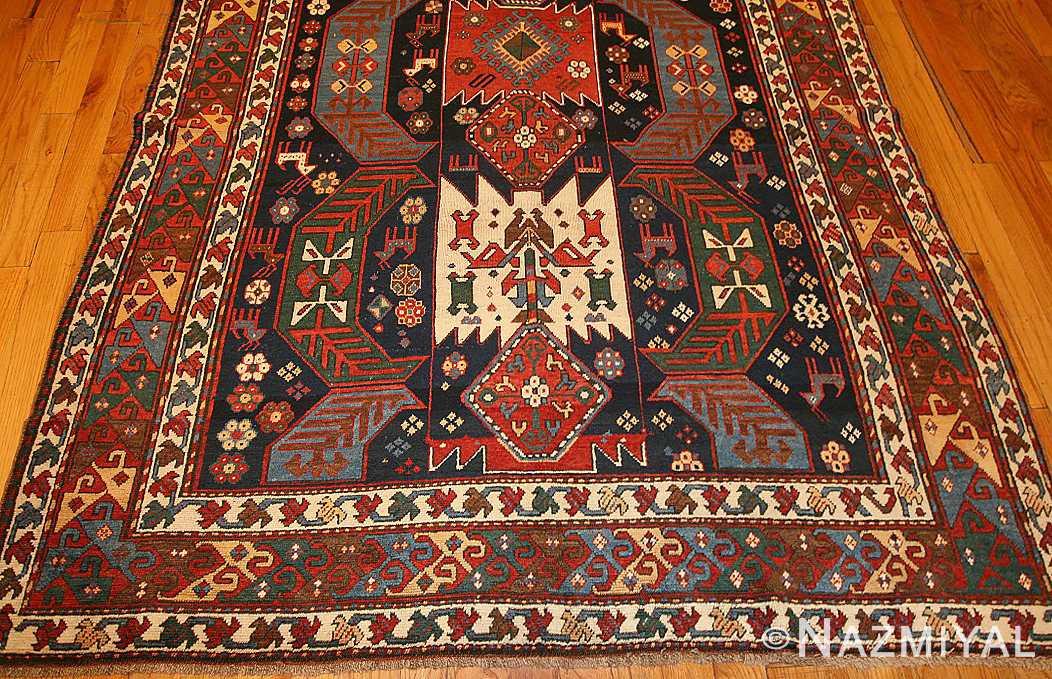 antique caucasian kazak rug 47070 border Nazmiyal