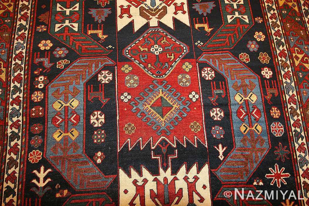 antique caucasian kazak rug 47070 field Nazmiyal