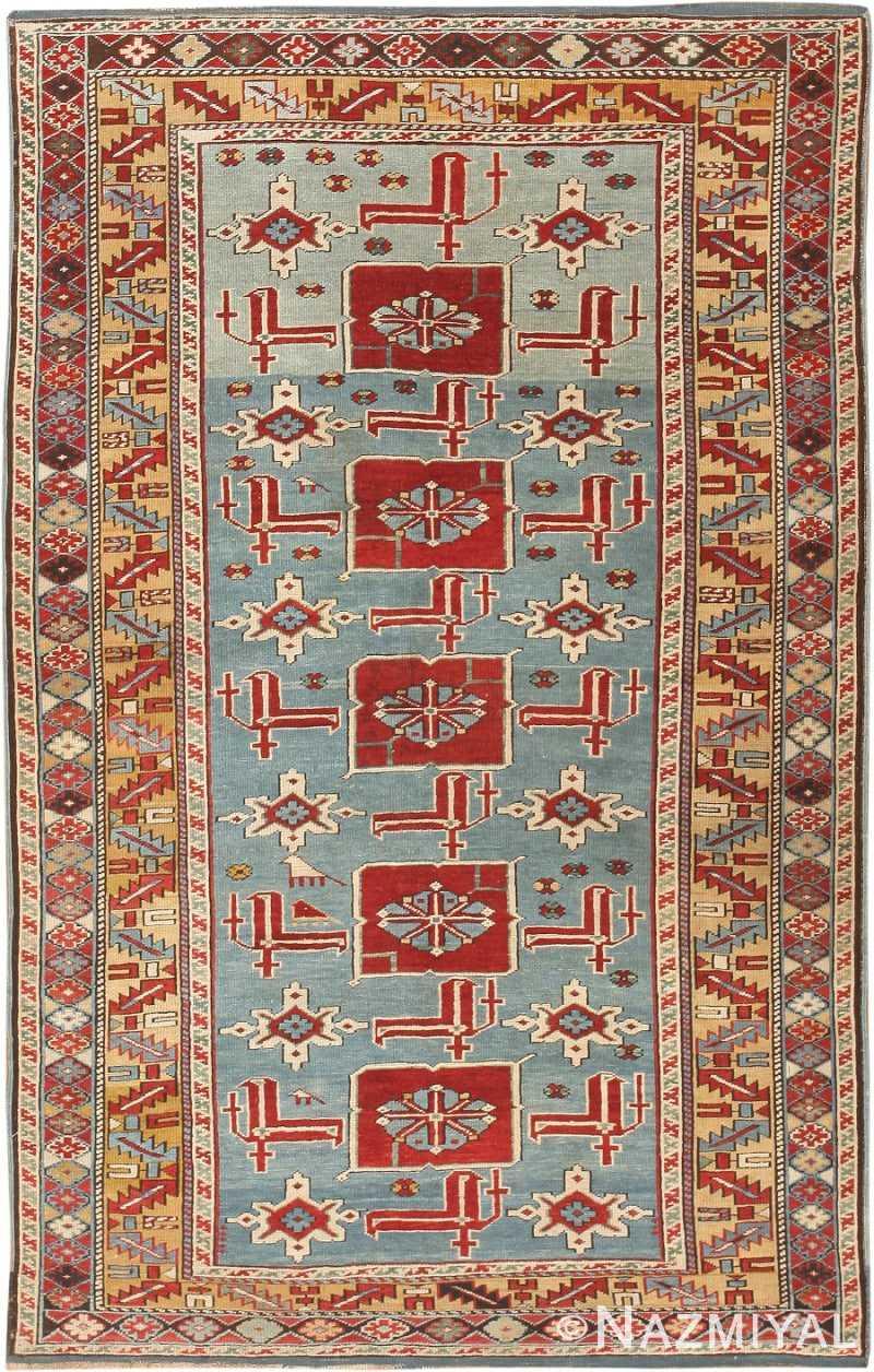 Antique Karakashly Caucasian Rug 47061 Nazmiyal