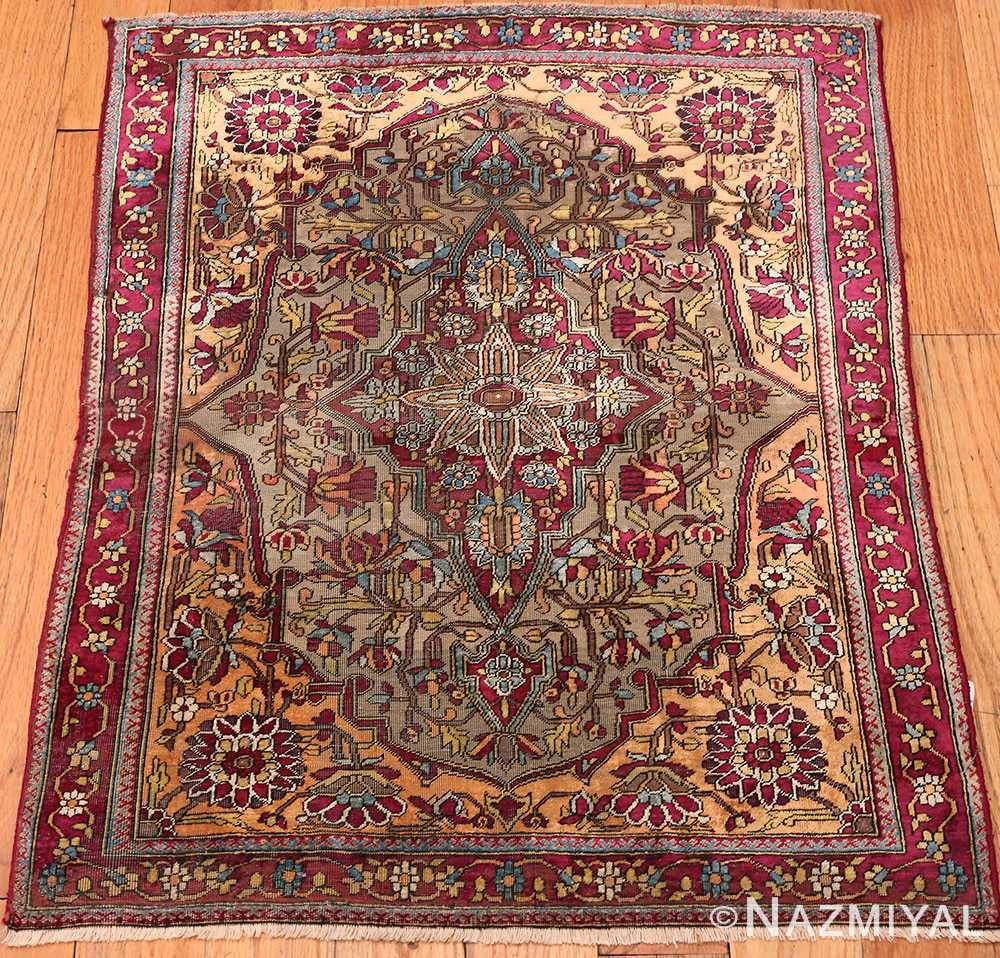 Antique Mohtashem Kashan Persian Rug 47048 by Nazmiyal