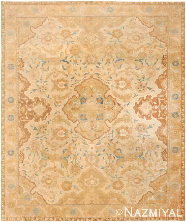 Antique Persian Tabriz Rug 45767 Nazmiyal