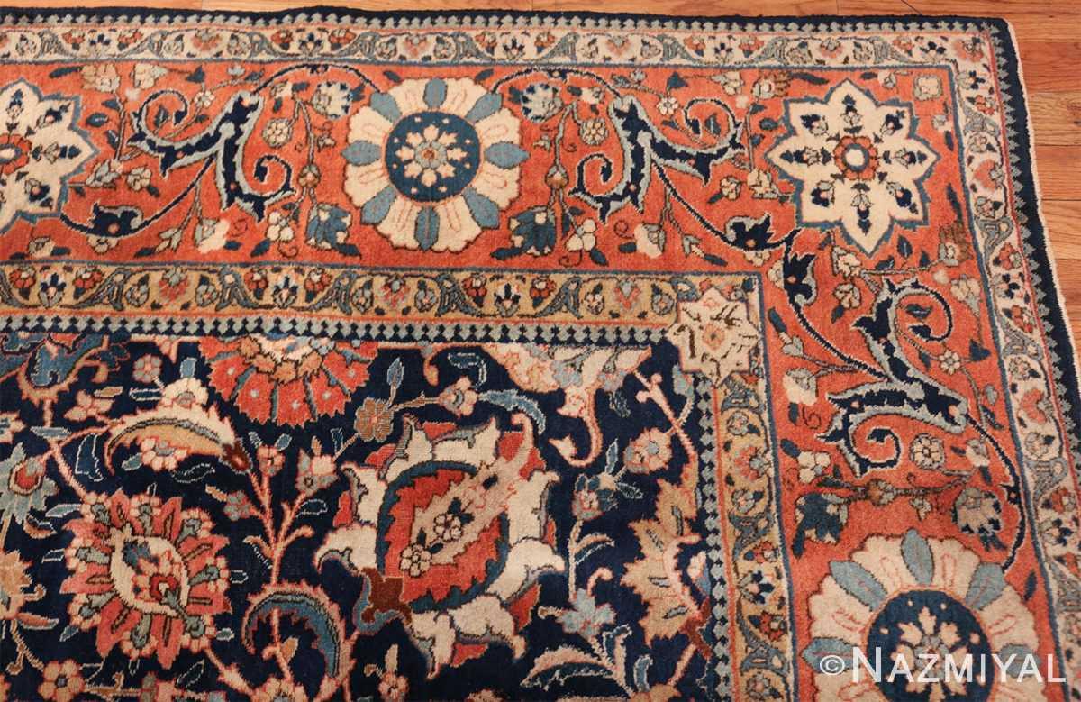 antique persian tabriz rug 47064 corner