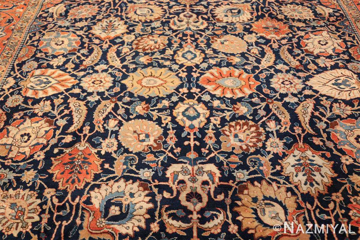 antique persian tabriz rug 47064 field Nazmiyal