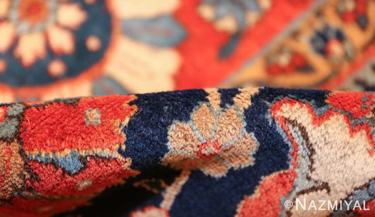 antique persian tabriz rug 47064 pile Nazmiyal