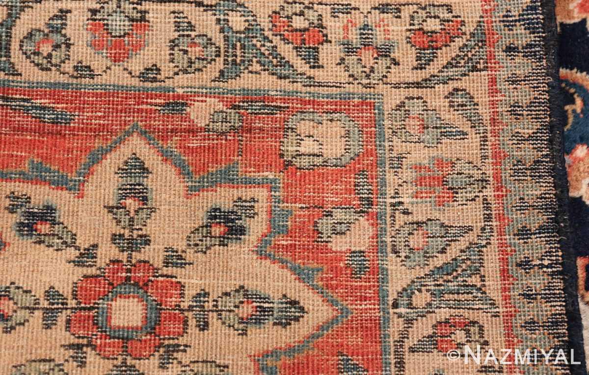 antique persian tabriz rug 47064 weave Nazmiyal
