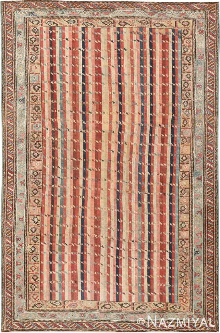 Antique Shirvan Caucasian Rug 47056 Nazmiyal