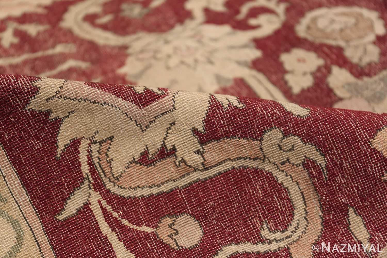 Antique Turkish Hereke Rug 45620 Floral Pile Nazmiyal