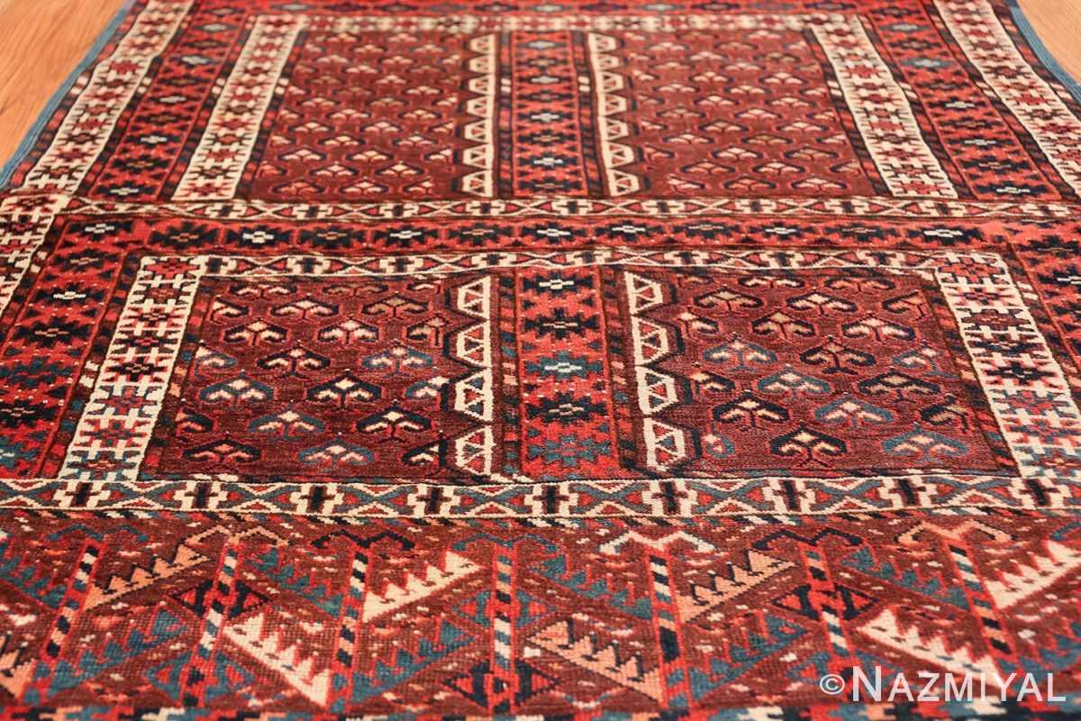 antique west turkestan yomut rug 47068 field Nazmiyal