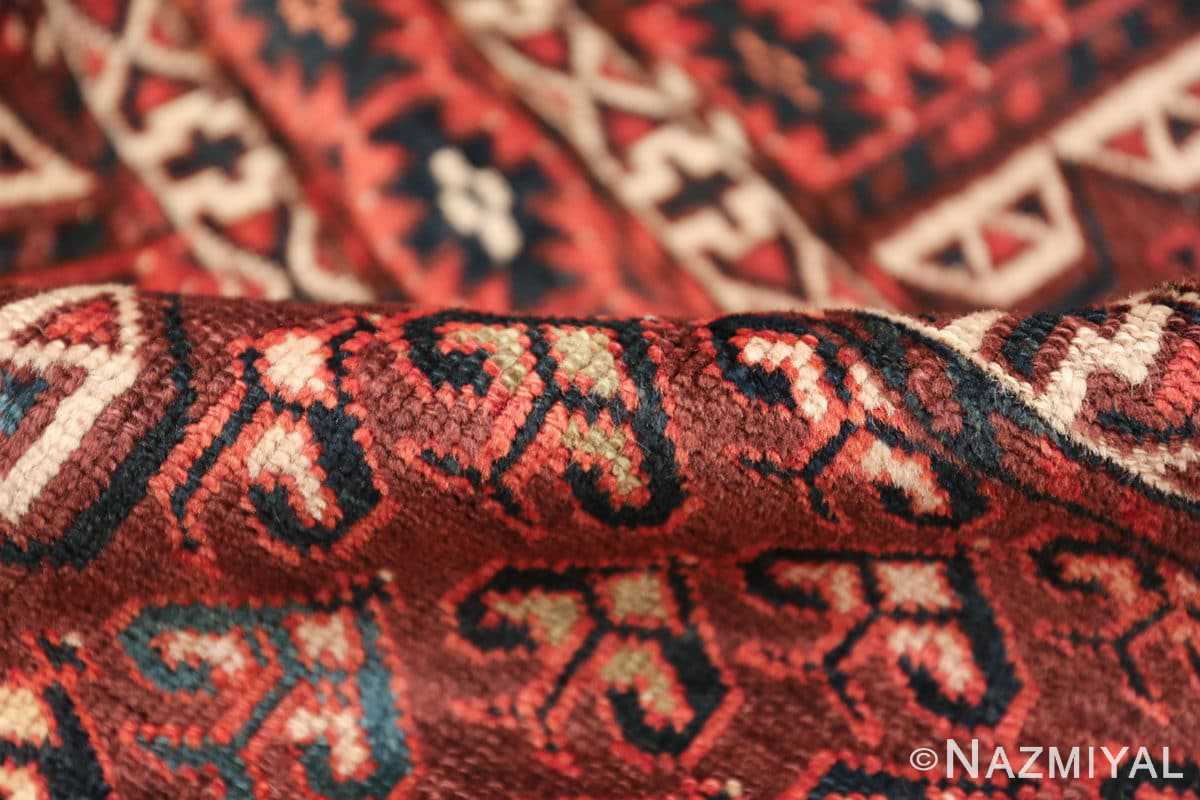antique west turkestan yomut rug 47068 pile Nazmiyal