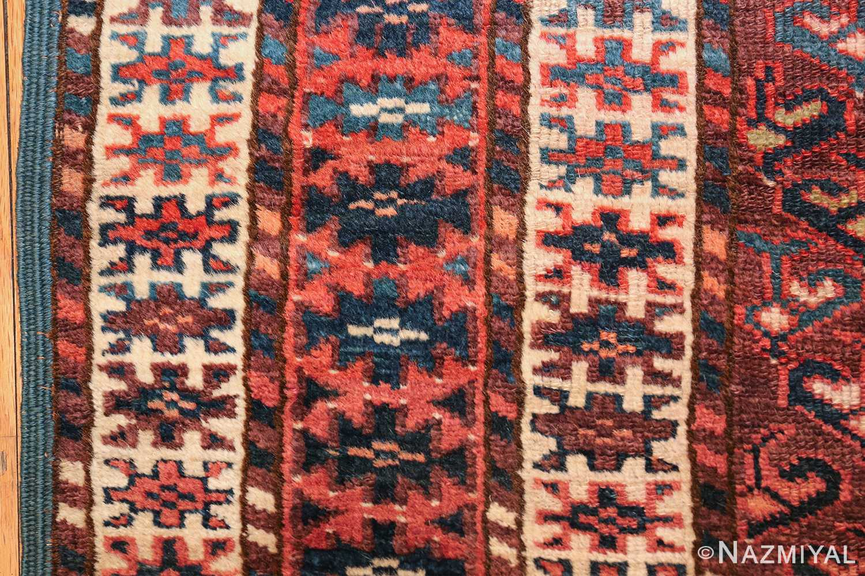 antique west turkestan yomut rug 47068 side Nazmiyal