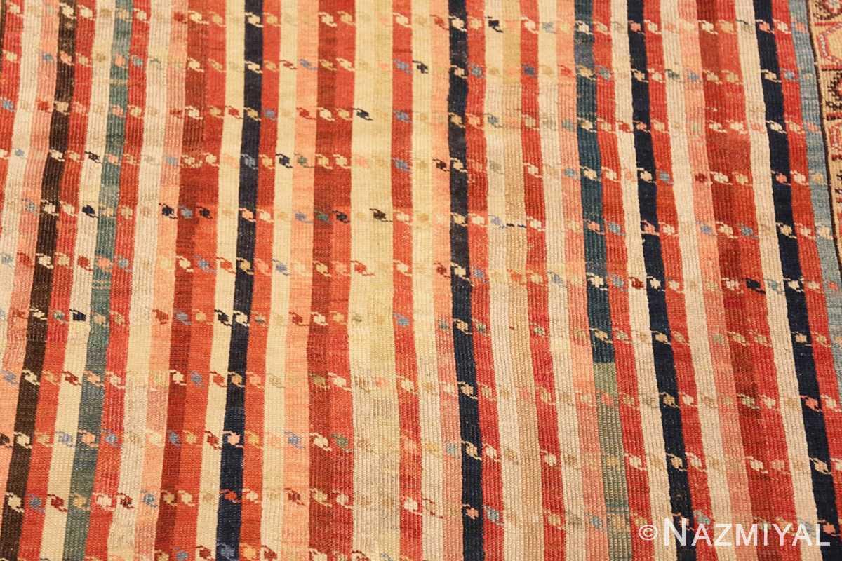 Background Antique Shirvan Caucasian rug 47056 by Nazmiyal