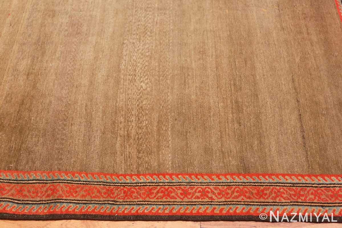 Border Antique Persian Malayer rug 47050 by Nazmiyal