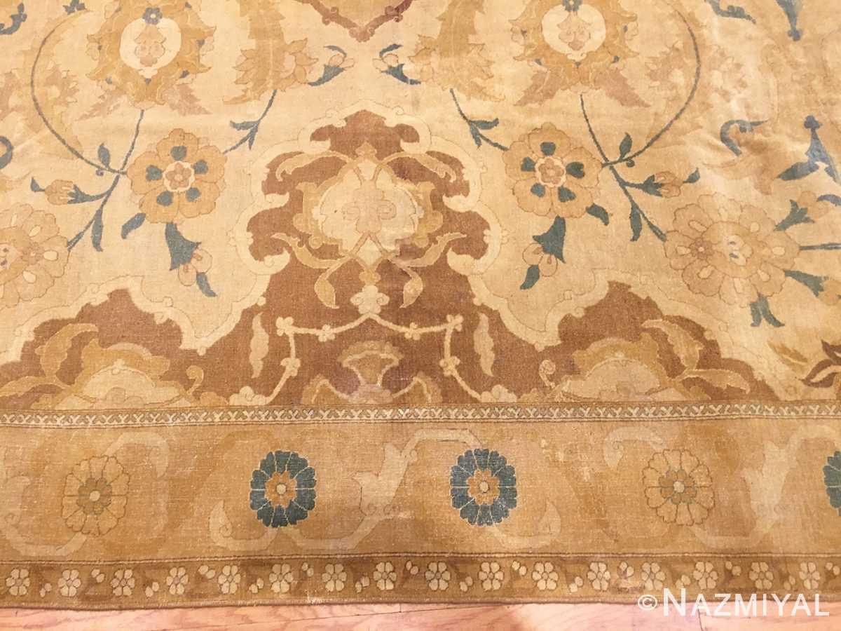 Border Antique Persian Polonaise Design Tabriz rug 45767 by Nazmiyal