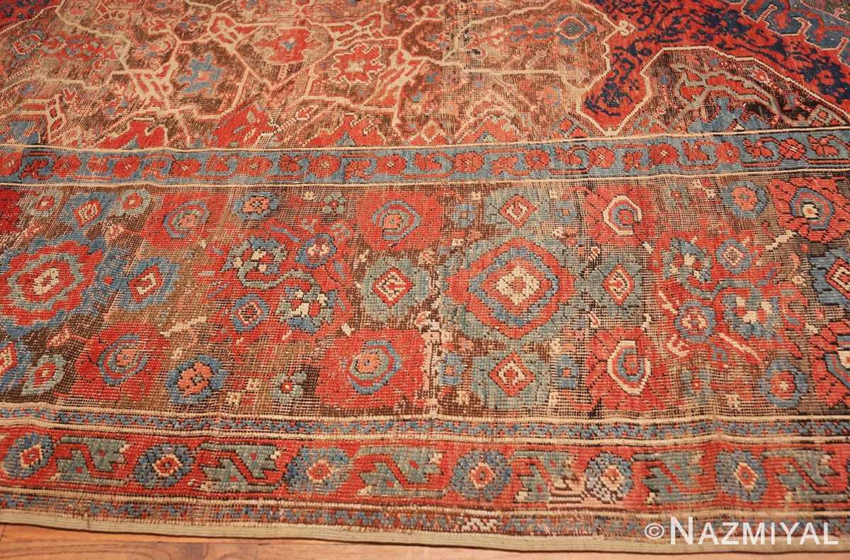 Border Large Turkish Oushak Smyrna rug 47072 by Nazmiyal
