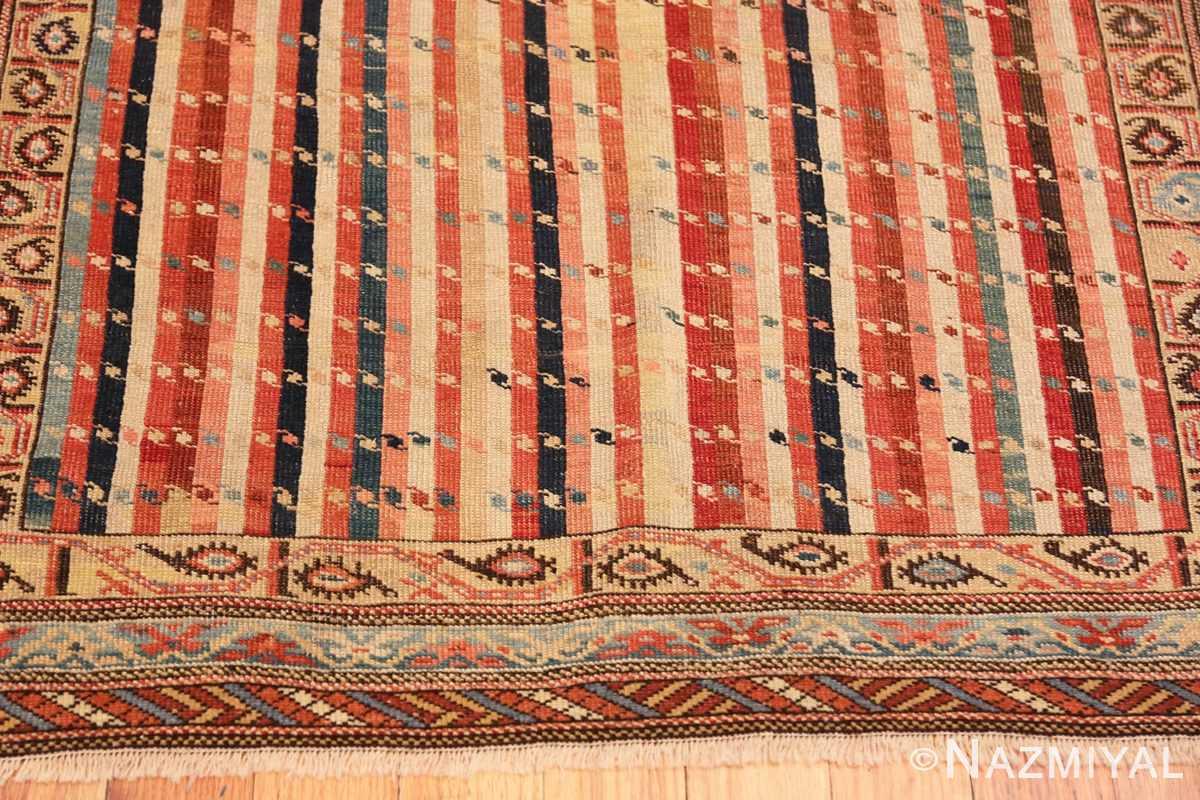 Border Antique Shirvan Caucasian rug 47056 by Nazmiyal