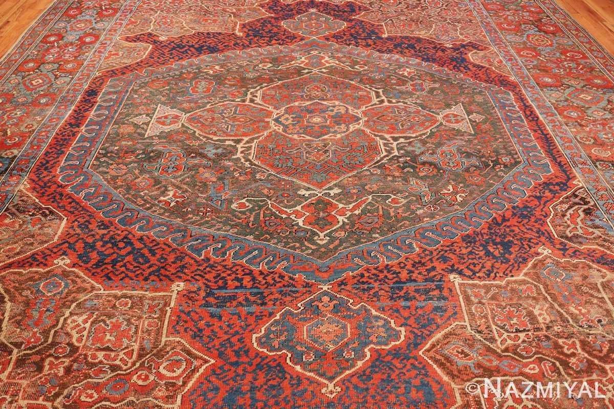 Center Large Turkish Oushak Smyrna rug 47072 by Nazmiyal