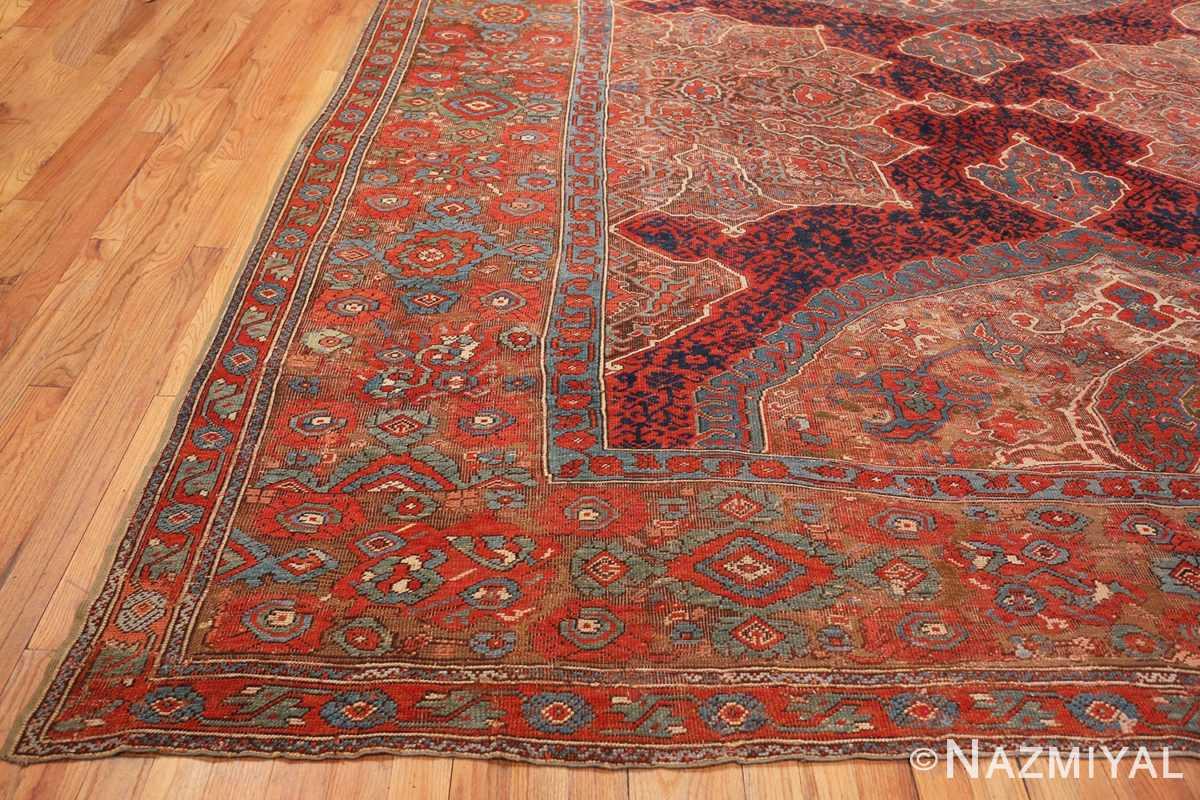 Corner Large Turkish Oushak Smyrna rug 47072 by Nazmiyal