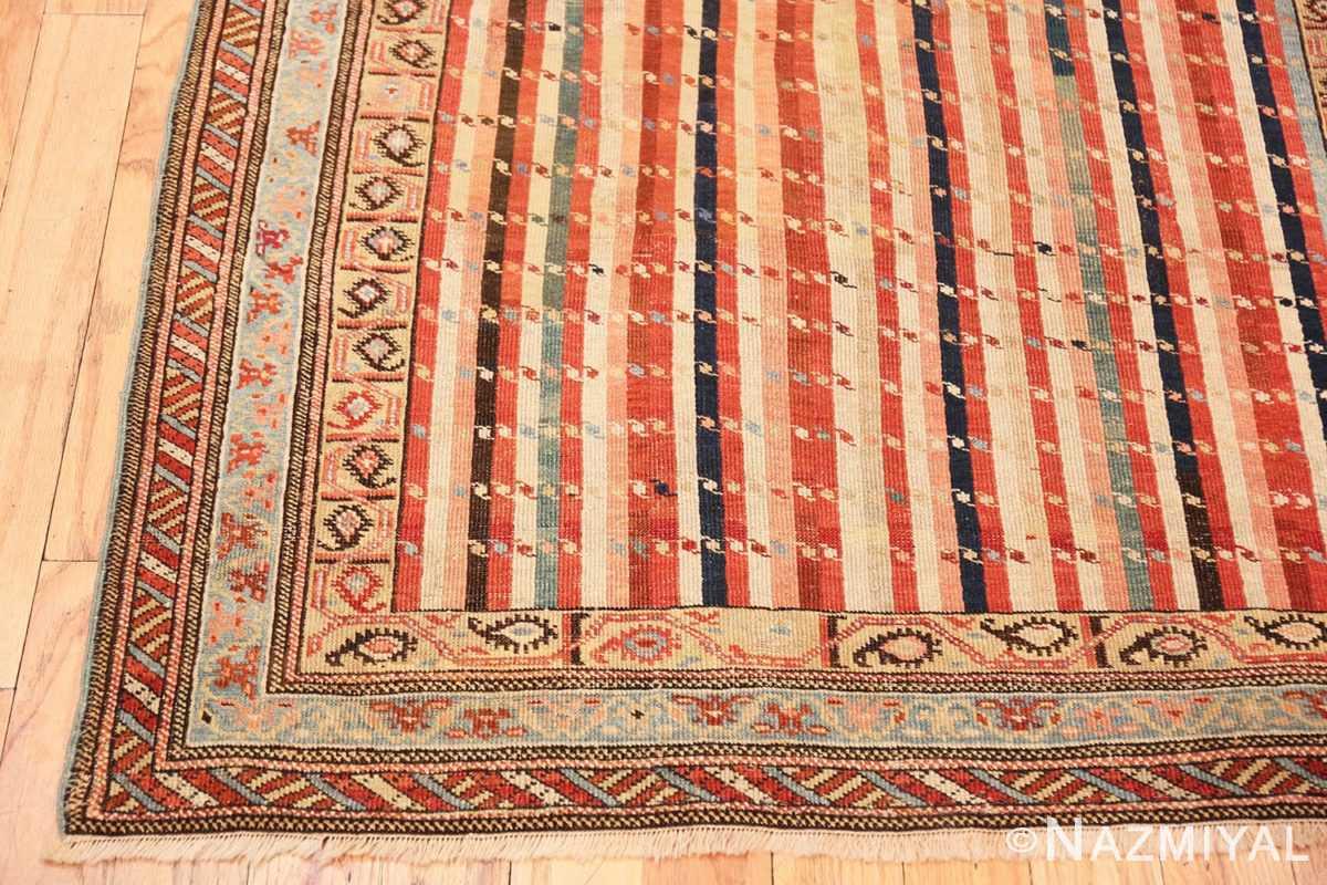 Corner Antique Shirvan Caucasian rug 47056 by Nazmiyal