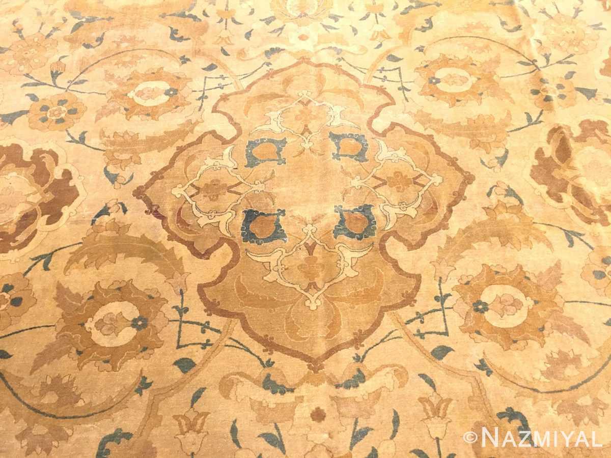Field Antique Persian Polonaise Design Tabriz rug 45767 by Nazmiyal
