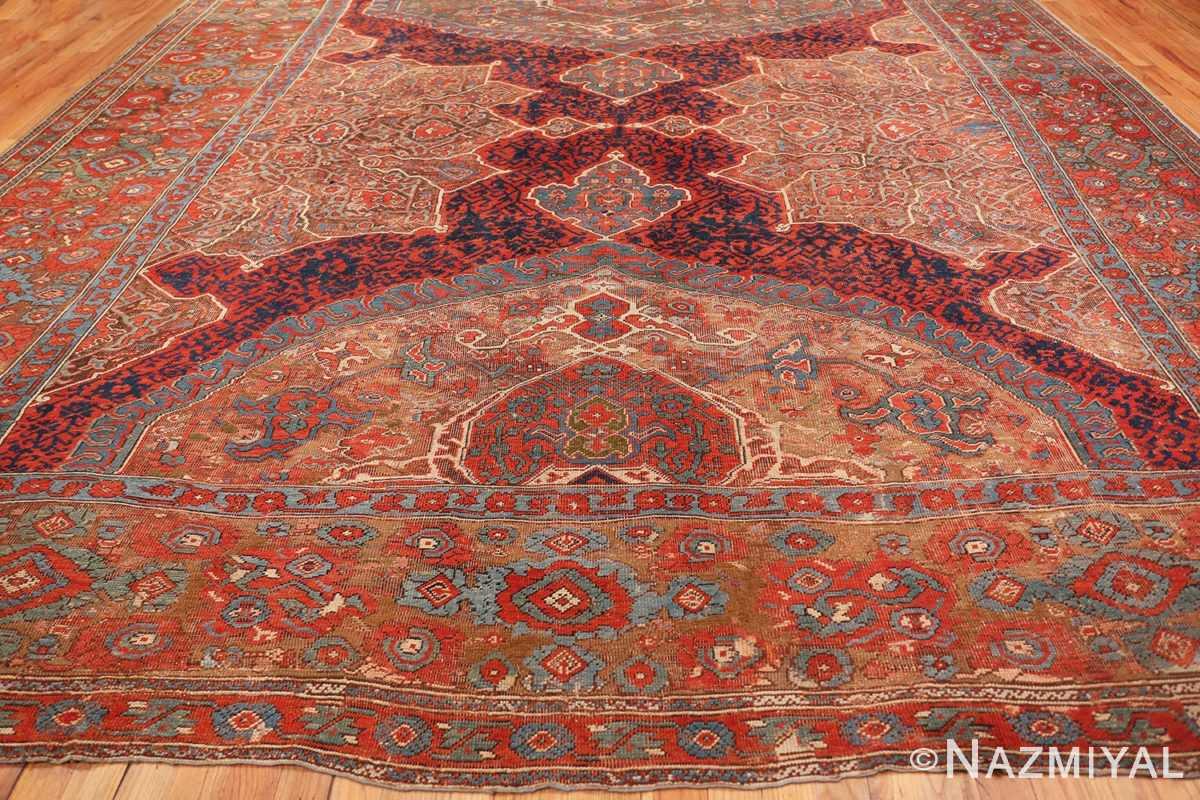 Field Large Turkish Oushak Smyrna rug 47072 by Nazmiyal