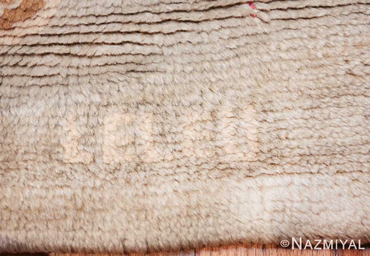 french art nouveau leleu rug 47075 white leleo Nazmiyal