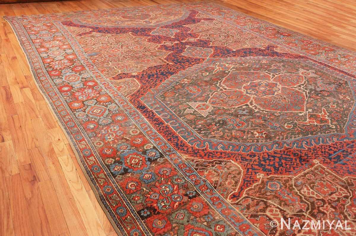 Full Large Turkish Oushak Smyrna rug 47072 by Nazmiyal