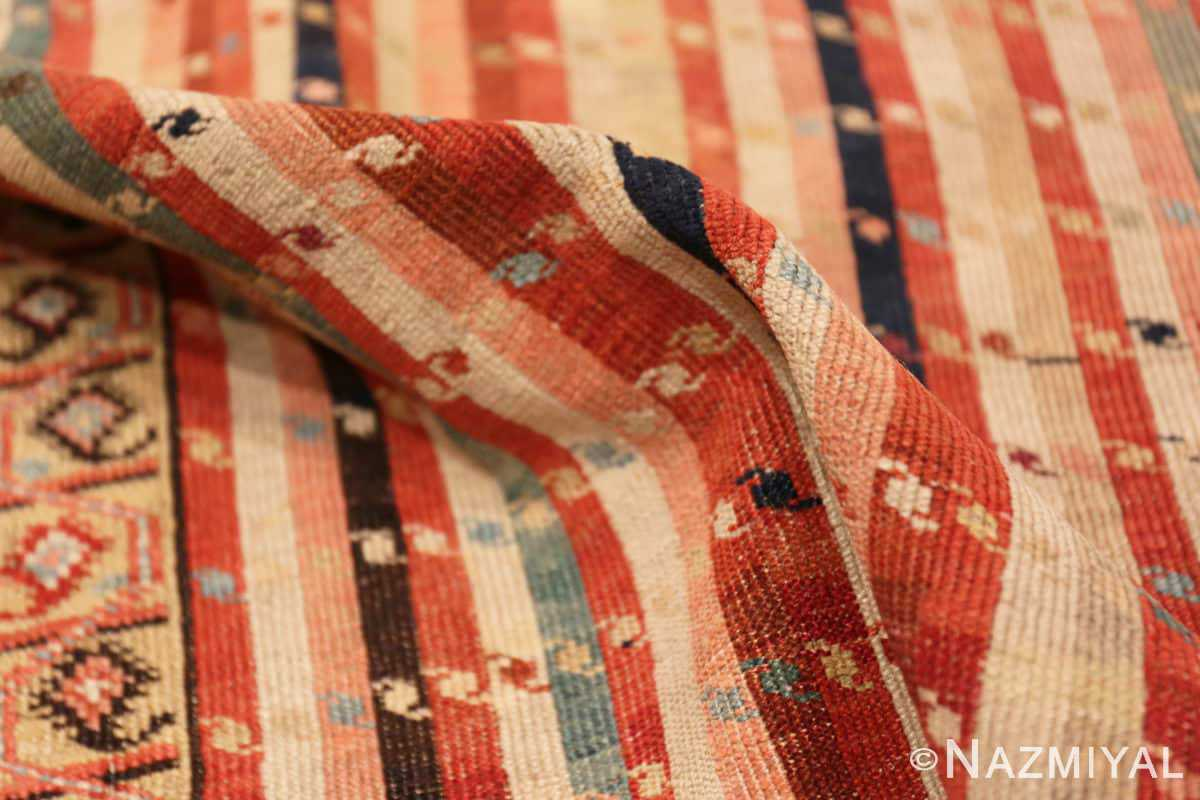 Pile Antique Shirvan Caucasian rug 47056 by Nazmiyal