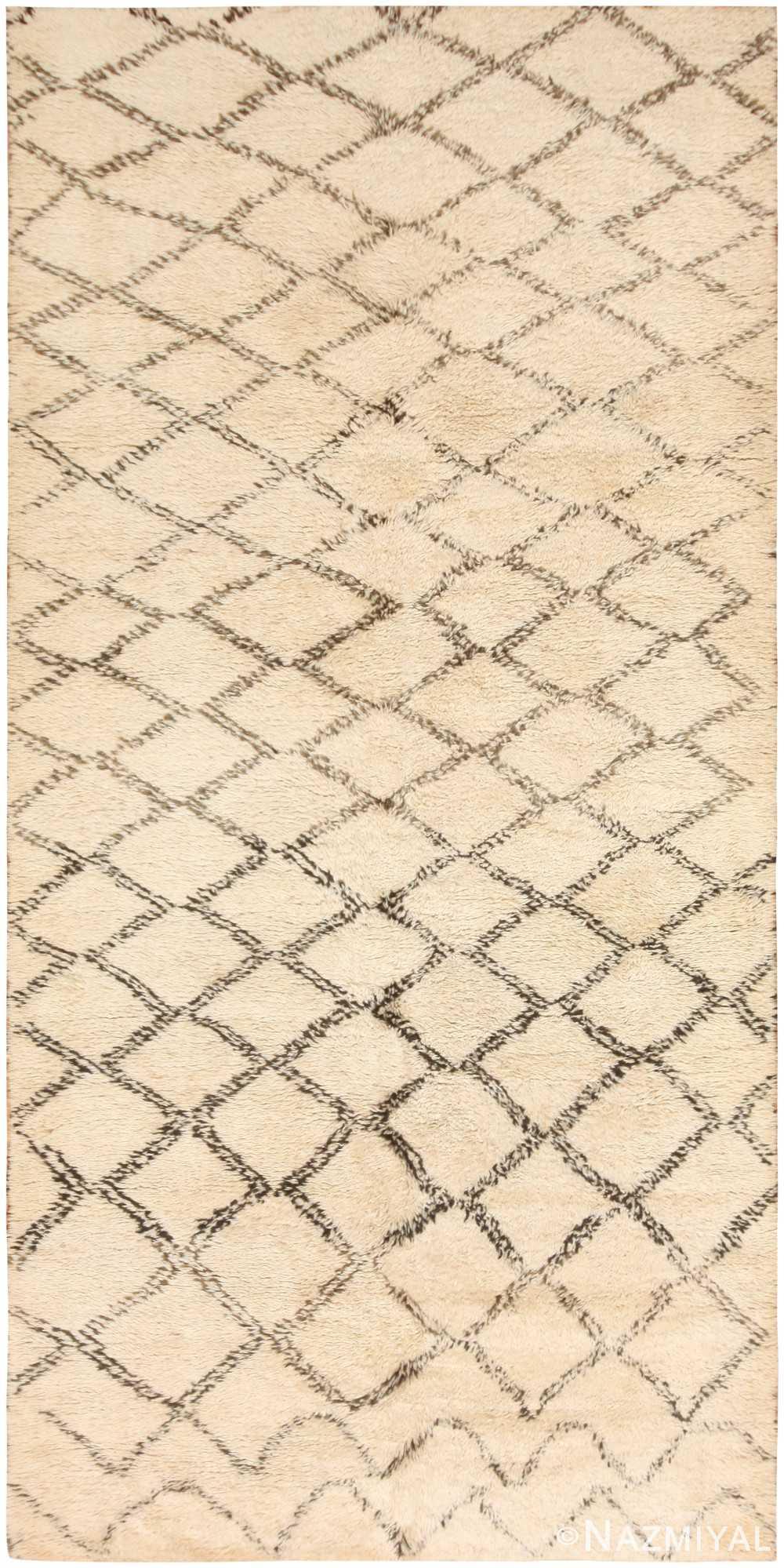 Vintage Moroccan Rug 47091 Detail/Large View