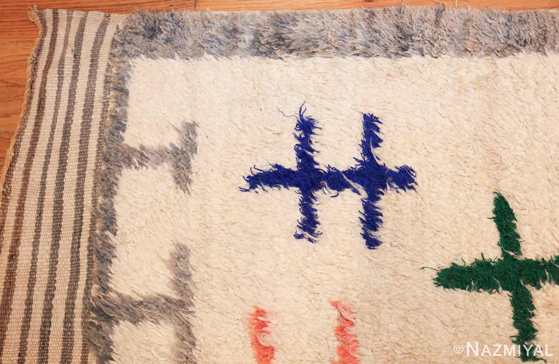 vintage moroccan rug 47098 corner Nazmiyal