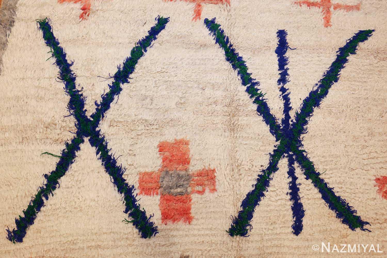 vintage moroccan rug 47098 design Nazmiyal
