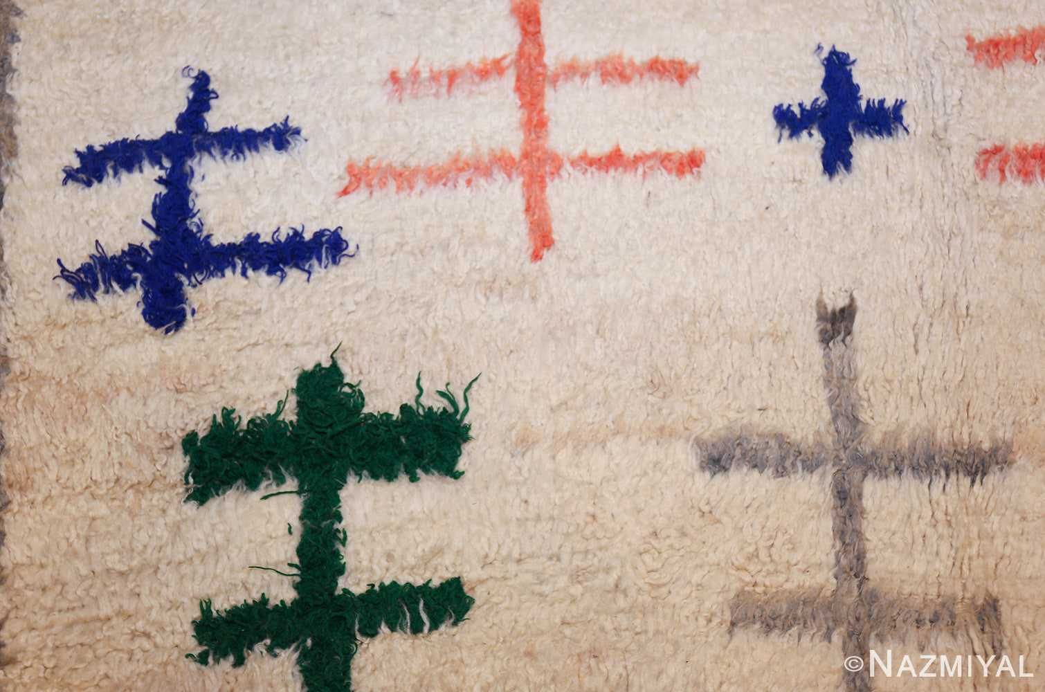 vintage moroccan rug 47098 lines Nazmiyal