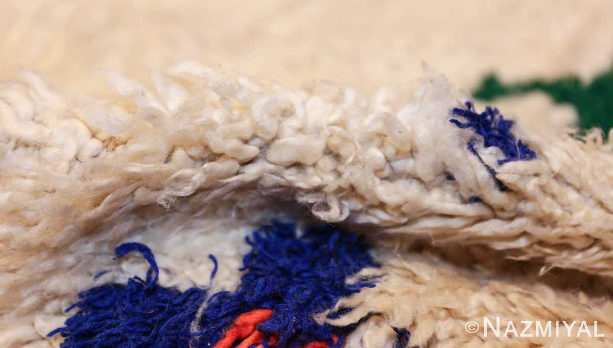 vintage moroccan rug 47098 pile Nazmiyal