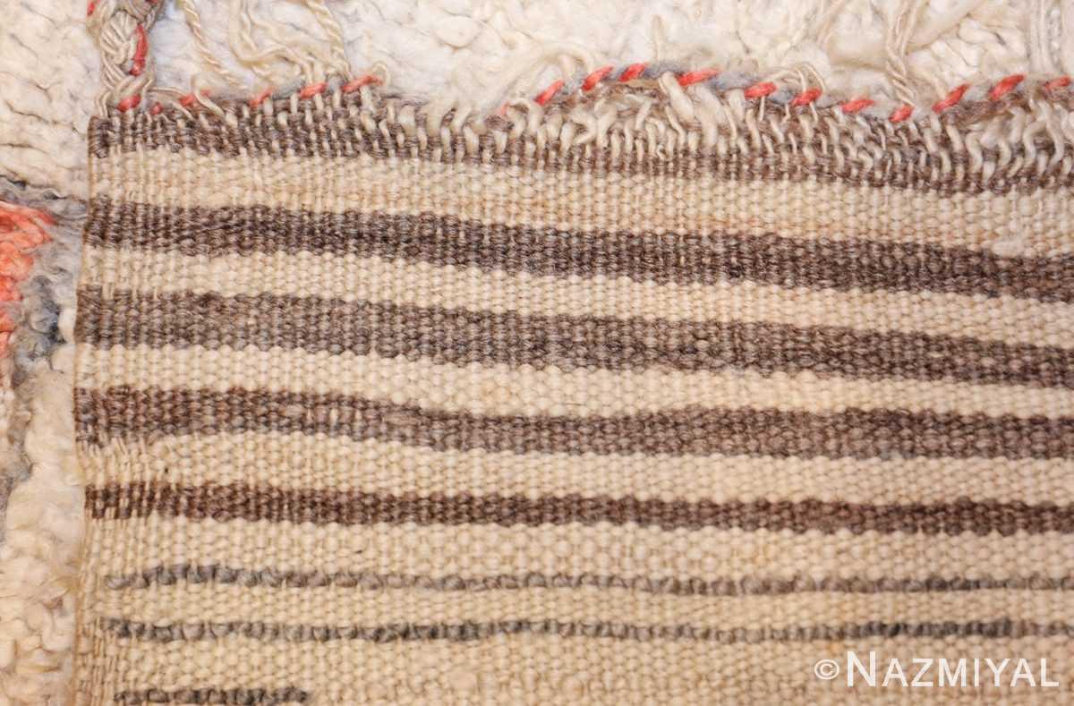 vintage moroccan rug 47098 weave Nazmiyal