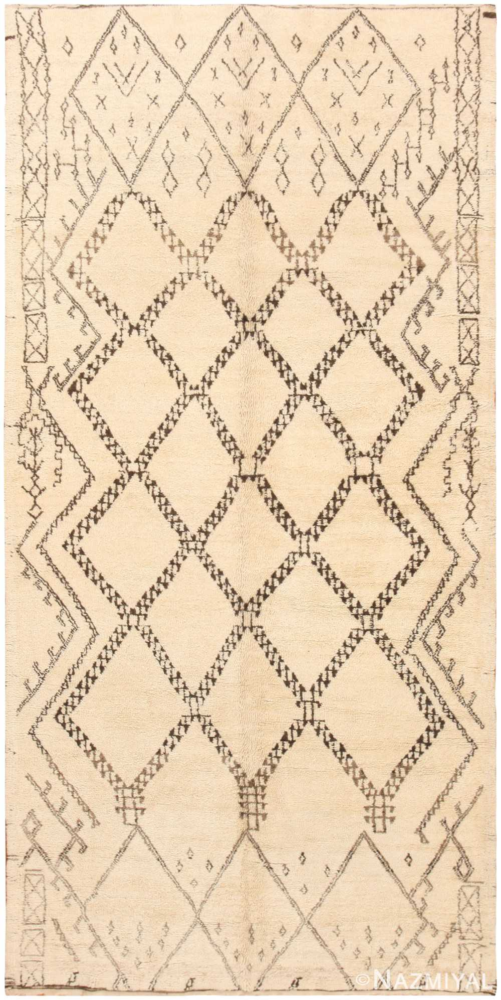 Vintage Moroccan Rug 47105 Detail/Large View