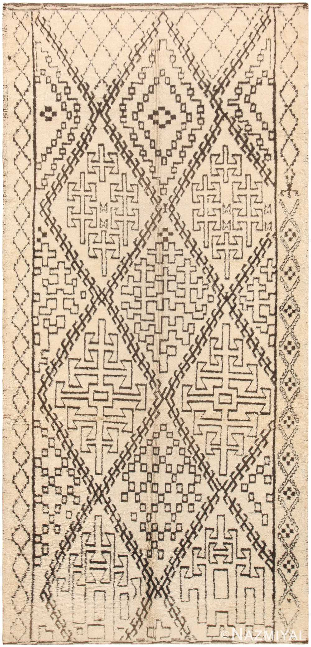 Vintage Moroccan Rug 47106 Detail/Large View