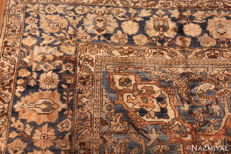 vintage persian bakhtiari rug 46836 corner Nazmiyal