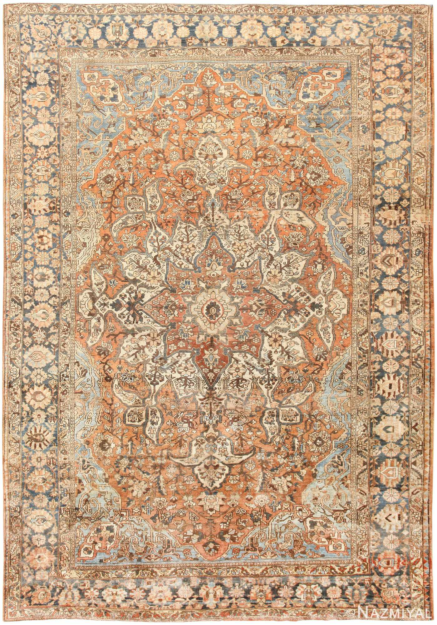 Vintage Persian Bakhtiari Rug 46836 Large Image